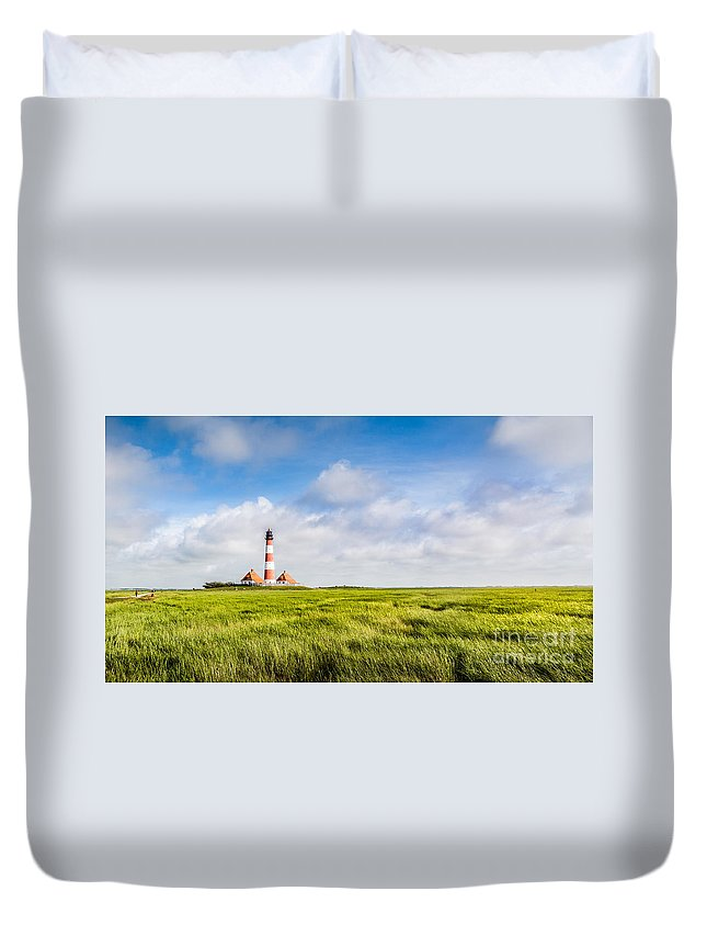 Nordsee Duvet Cover featuring the photograph North Sea by JR Photography