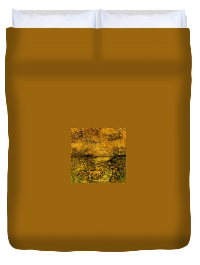 Citrasolv Duvet Cover featuring the mixed media Untitled by William Hartill