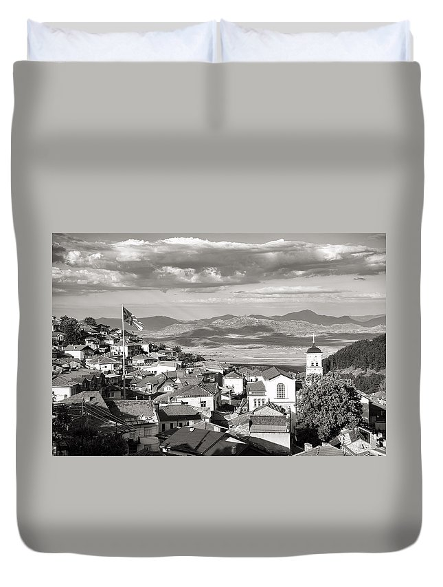 Macedonia Duvet Cover featuring the photograph Krusevo Macedonia by For Ninety One Days