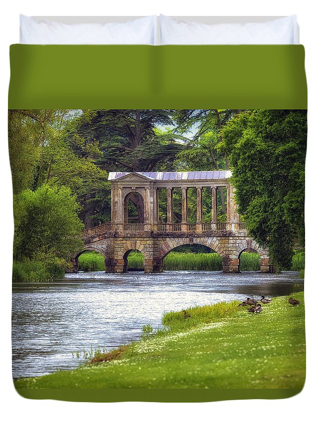 Wilton House Duvet Cover featuring the photograph Wilton by Joana Kruse