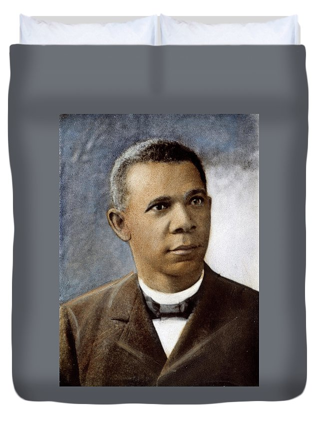 1899 Duvet Cover featuring the photograph Booker T by Granger