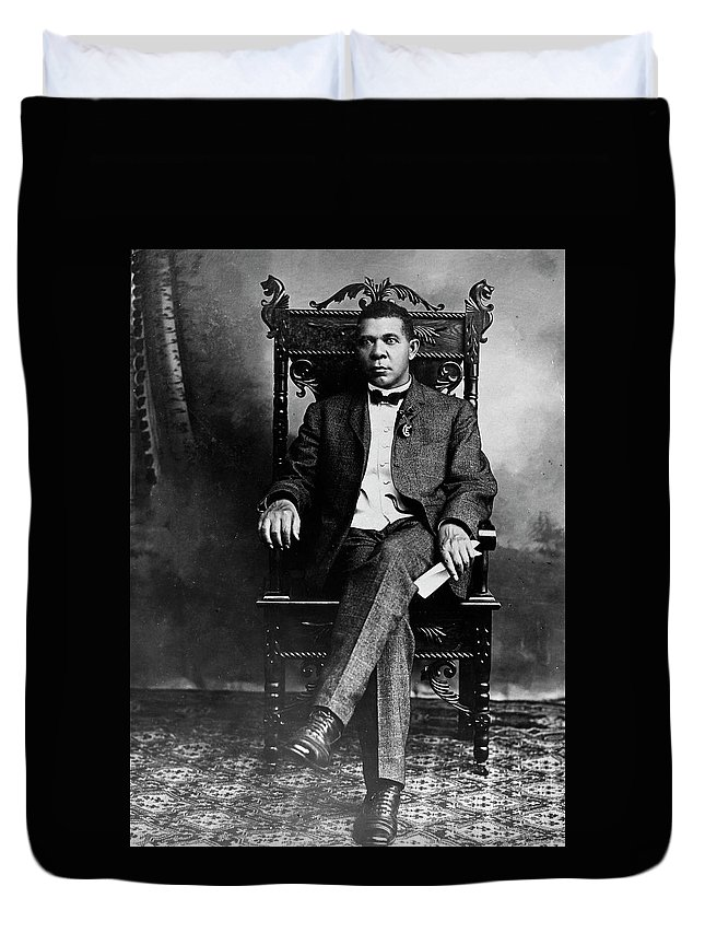 19th Century Duvet Cover featuring the photograph Booker T by Granger