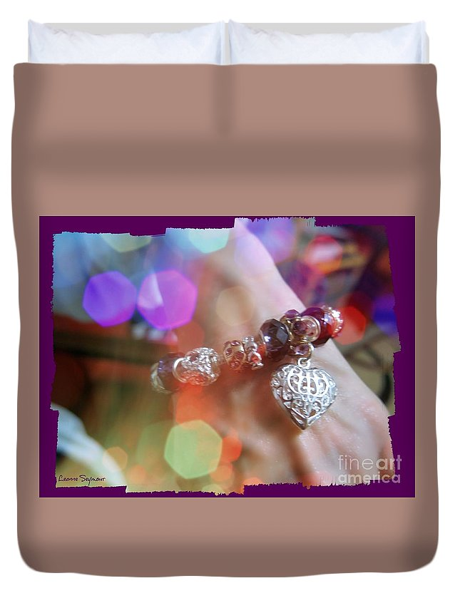 Gift Duvet Cover featuring the photograph A Gift by Leanne Seymour