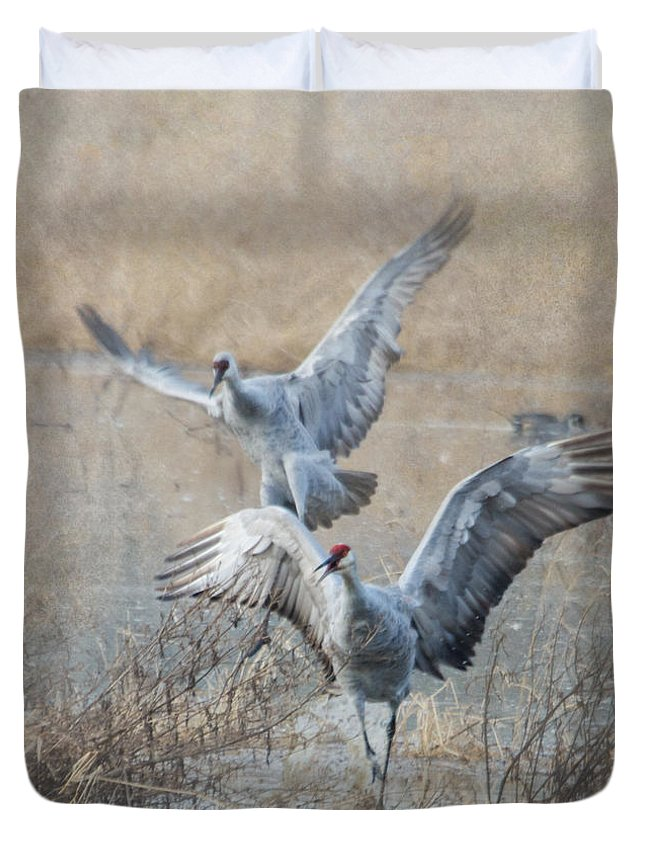 Sandhill Crane Duvet Covers