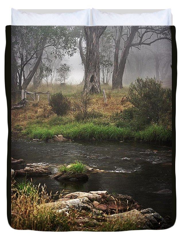 Blair Stuart Duvet Cover featuring the photograph A Mystical Place by Blair Stuart