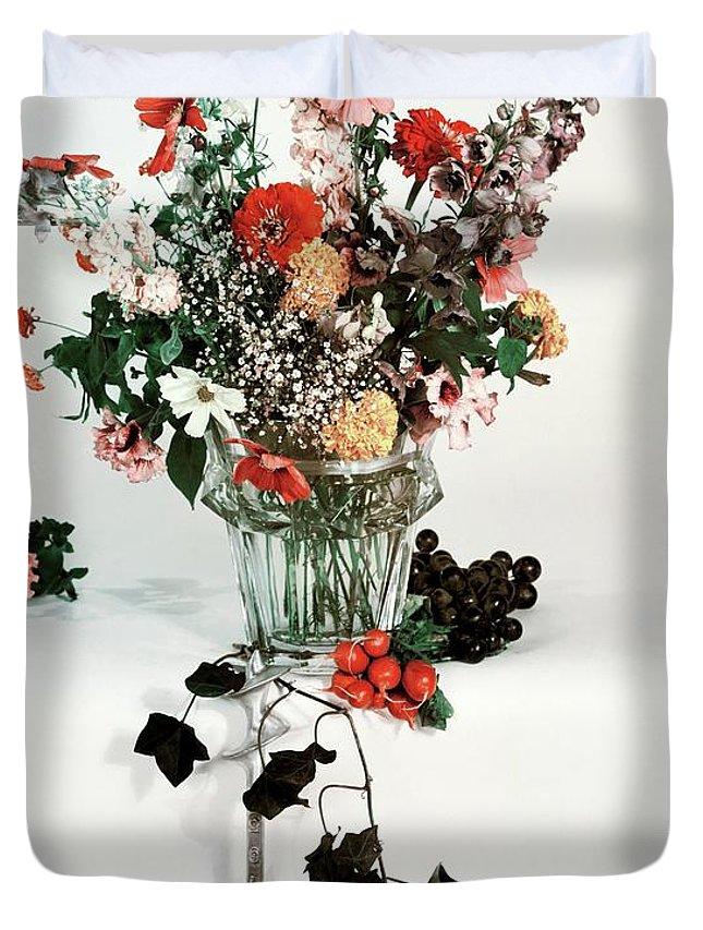 Vase Of Flowers Duvet Covers
