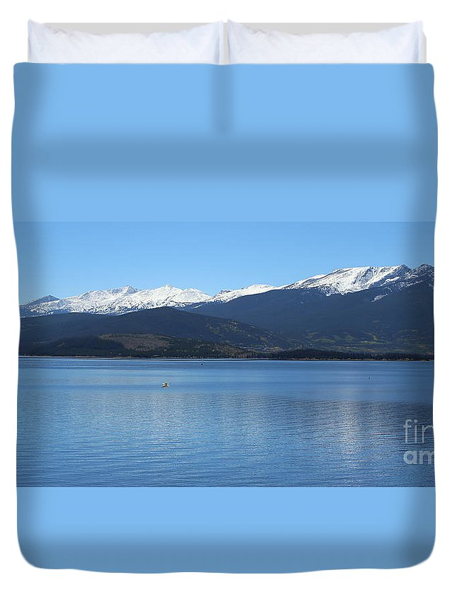 Frisco Colorado Duvet Cover featuring the photograph A Touch Of Paradise by Fiona Kennard
