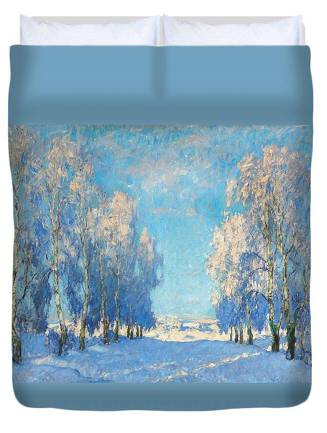 Russian Impressionism Duvet Covers