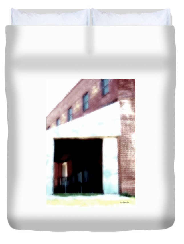 Rightfromtheart Duvet Cover featuring the photograph Abandoned Places by Bob and Kathy Frank