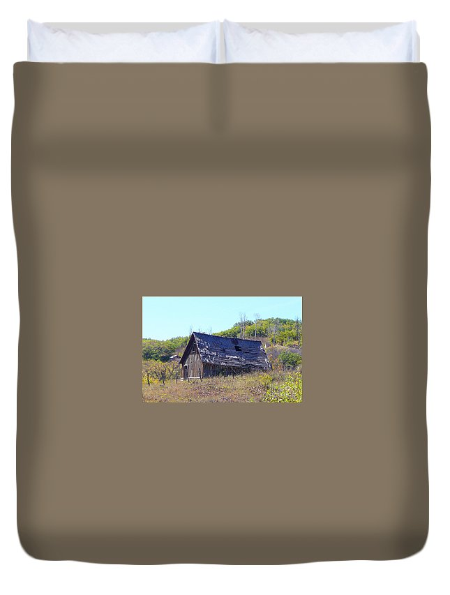 Old Duvet Cover featuring the photograph Abandoned Relic II Co by Dale Jackson