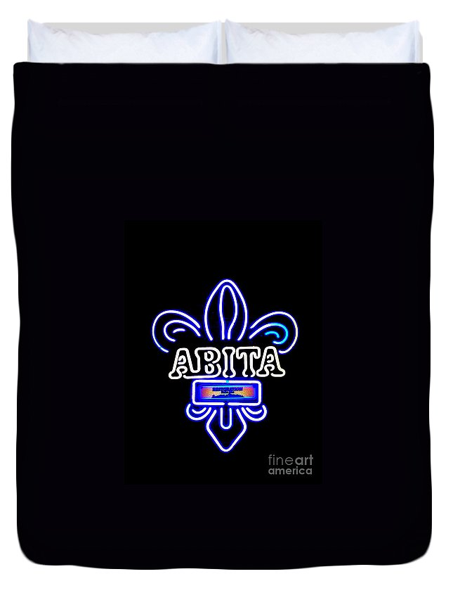 Duvet Cover featuring the photograph Abita by Kelly Awad