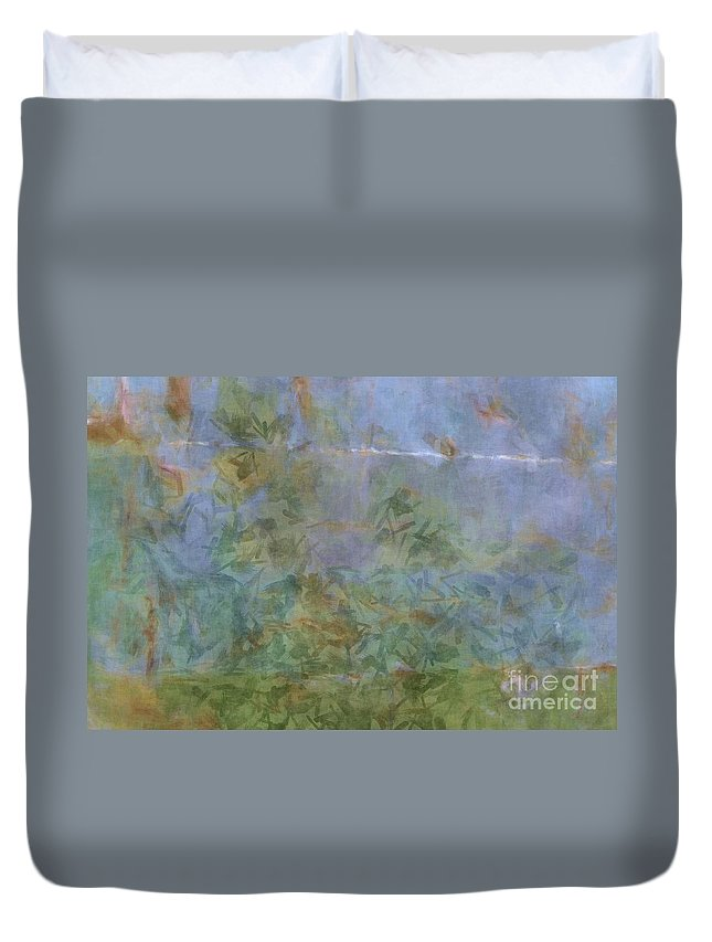 Abstract Duvet Cover featuring the photograph Prosperity - Abstract Art by Nikki Vig