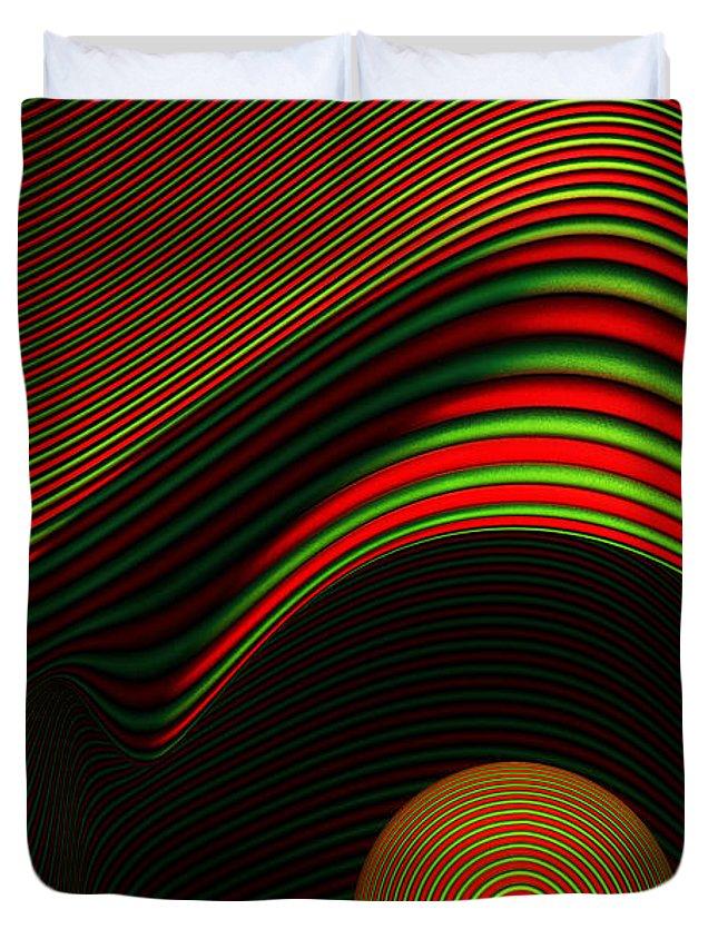Front Digital Art Duvet Covers