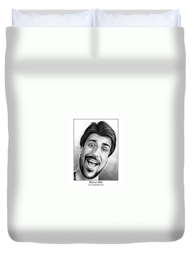 Singing Drawings Duvet Covers