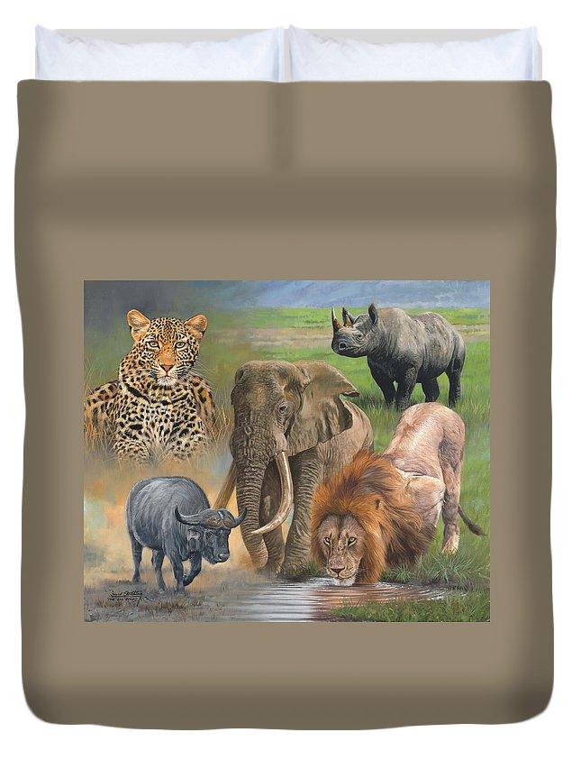 Rhinocerus Duvet Covers