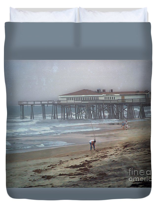 Fine Art Duvet Cover featuring the photograph After the Hurricane by Patricia Griffin Brett