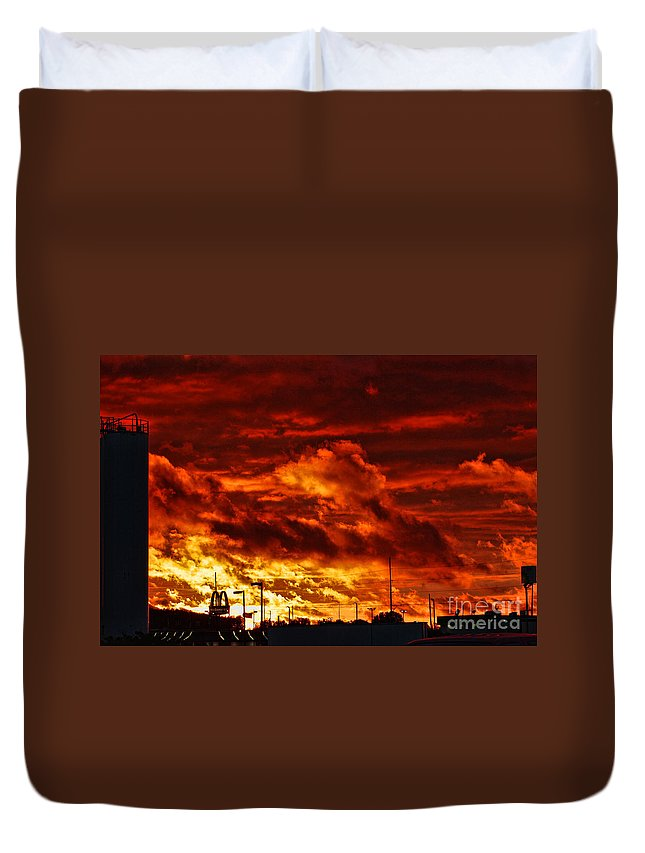 Storm Duvet Cover featuring the photograph After The Storm by Tommy Anderson