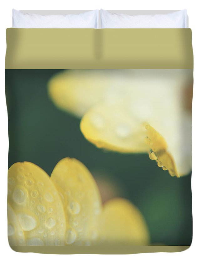 Flowers Duvet Cover featuring the photograph Almost Close Enough To Touch by Laurie Search