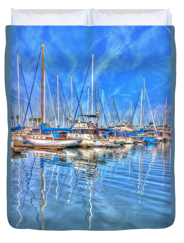 Amazing Duvet Cover featuring the photograph Almost Summer by Heidi Smith