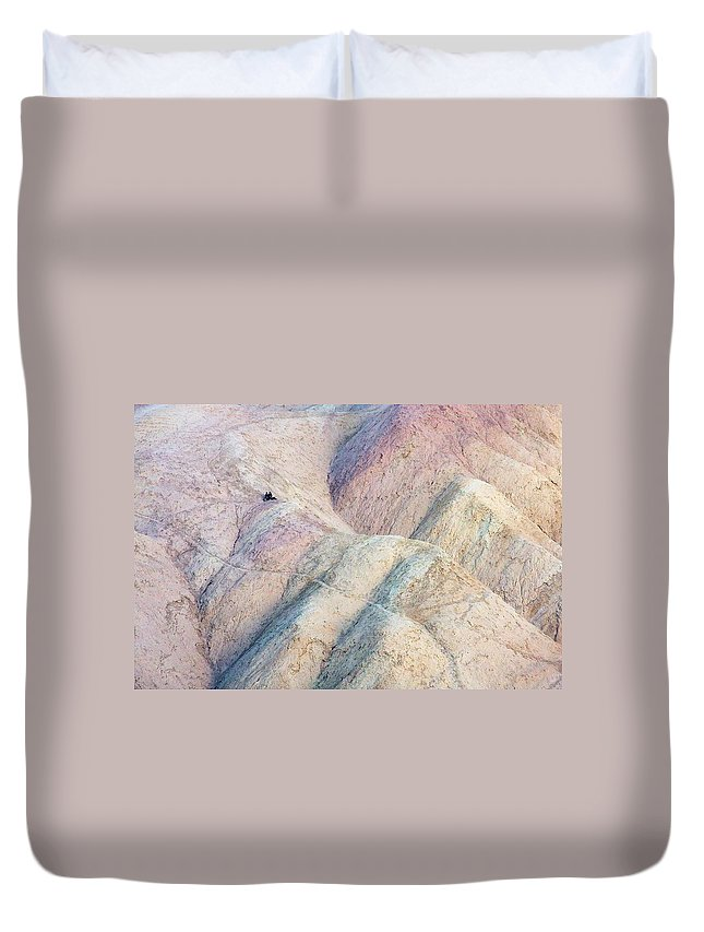 California Duvet Cover featuring the photograph Alone Together by Stuart Litoff