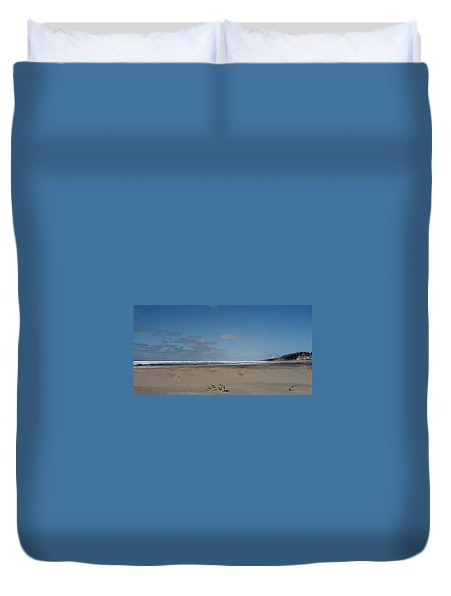 Holland Duvet Cover featuring the photograph Always Breakers by Joseph Yarbrough
