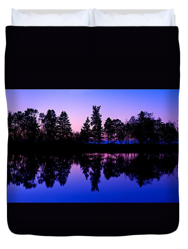 Autumn Duvet Cover featuring the photograph Amazing Morning Sky by U Schade