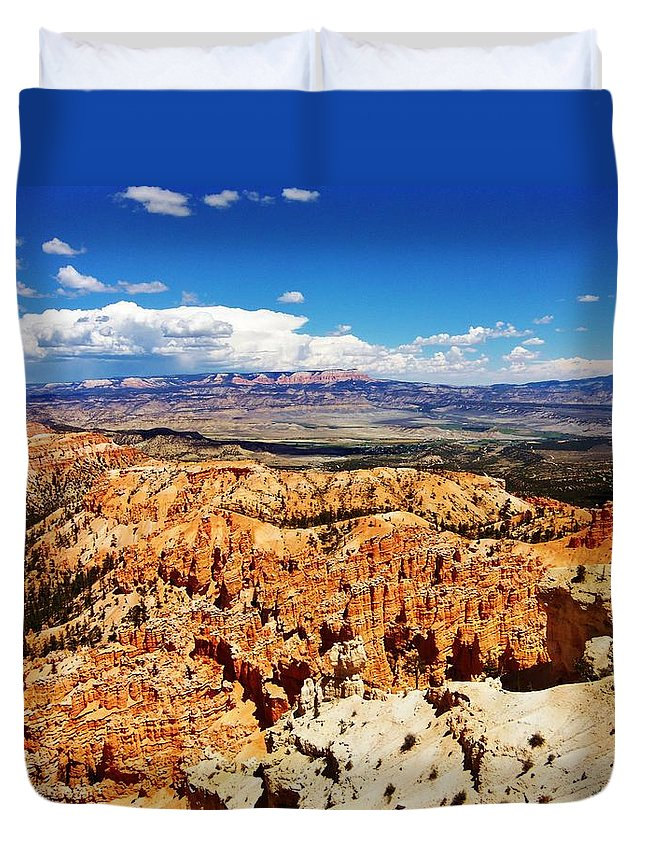 Hike Duvet Cover featuring the photograph Among The Canyon by Ashley Casterline