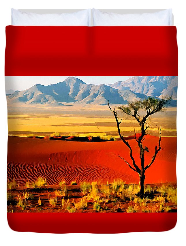 America Duvet Cover featuring the photograph Anza Borrego Desert Southern California by Bob and Nadine Johnston
