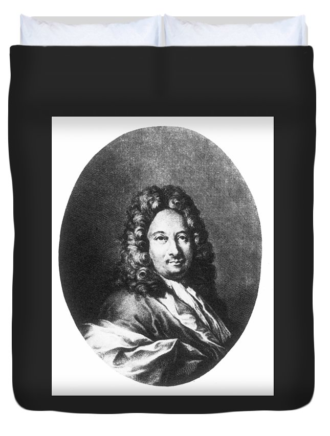 18th Century Duvet Cover featuring the painting Apostolo Zeno (1668-1750) by Granger