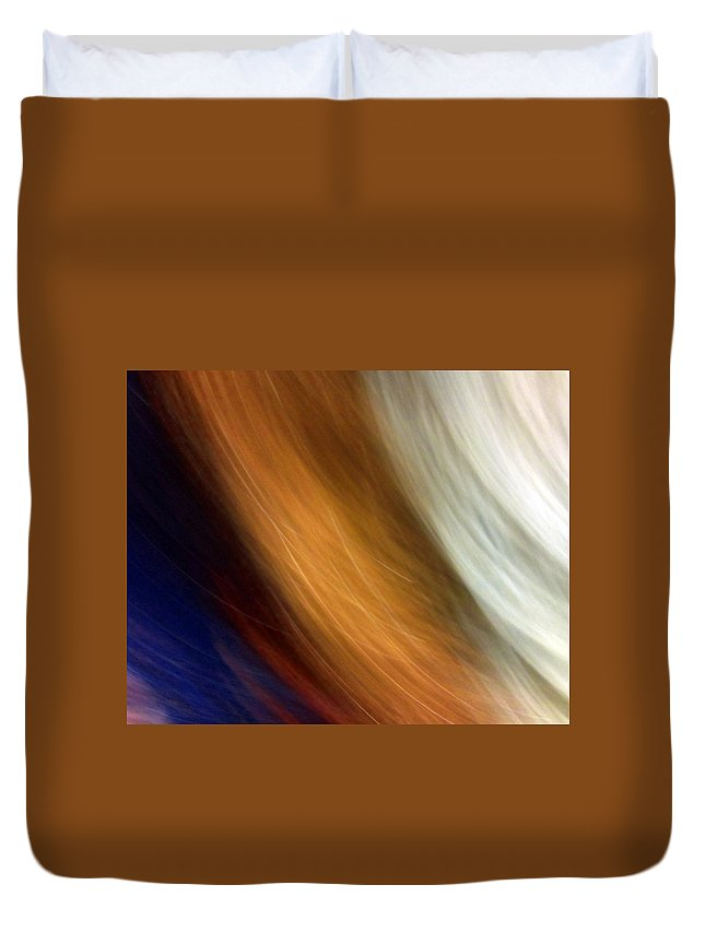 Approval Duvet Cover featuring the photograph Approval by Munir Alawi