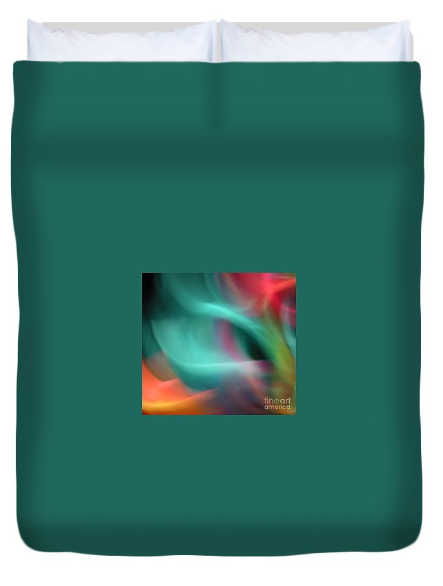 Swirl Duvet Cover featuring the photograph Aquarius by Marilyn Martin