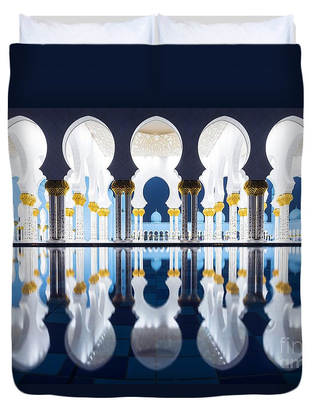 Arab Duvet Cover featuring the photograph Arabian Nights by Matteo Colombo