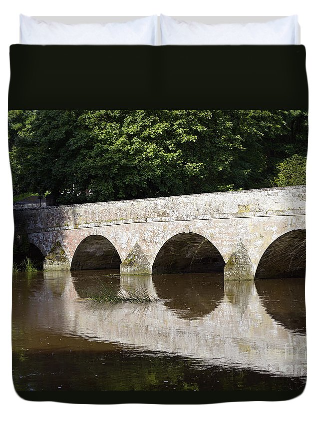 Doug Duvet Cover featuring the photograph Arches by Doug Wilton