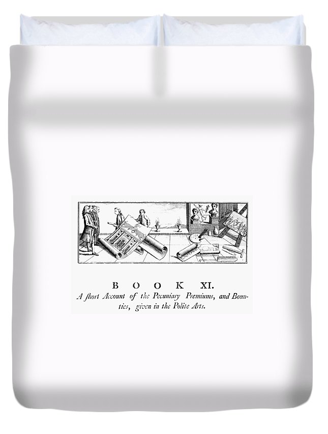 1772 Duvet Cover featuring the photograph Architecture, 1772 by Granger