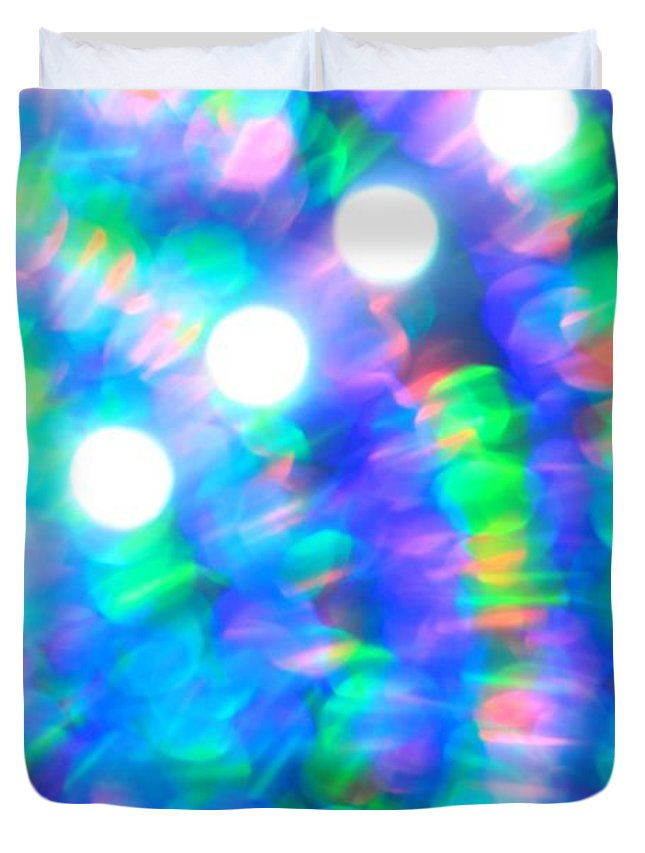Abstract Duvet Cover featuring the photograph Are You Experienced by Dazzle Zazz