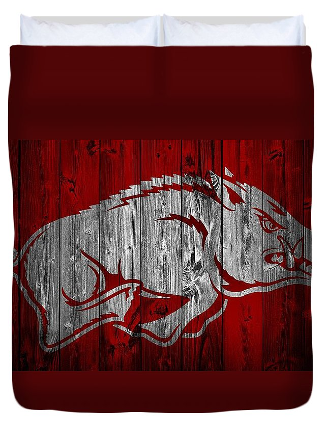 University Of Arkansas Duvet Covers