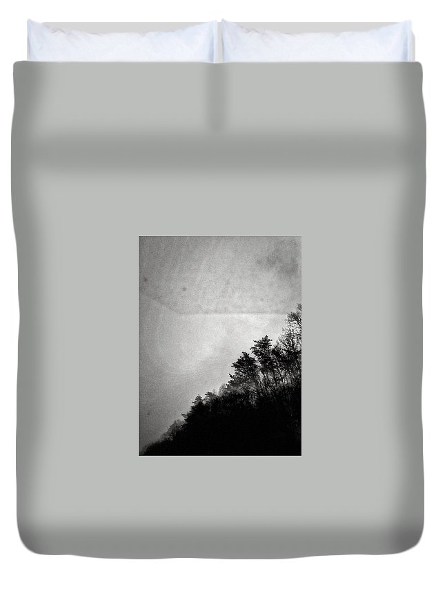 Trees Duvet Cover featuring the photograph Arkansas Trees by H James Hoff
