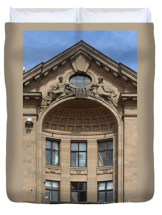 Europe Duvet Cover featuring the photograph Art Nouveau In Riga 26 by Rudi Prott