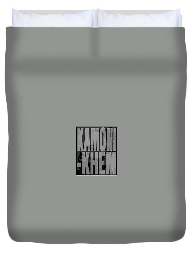 Duvet Cover featuring the digital art Arteeest by Kamoni Khem