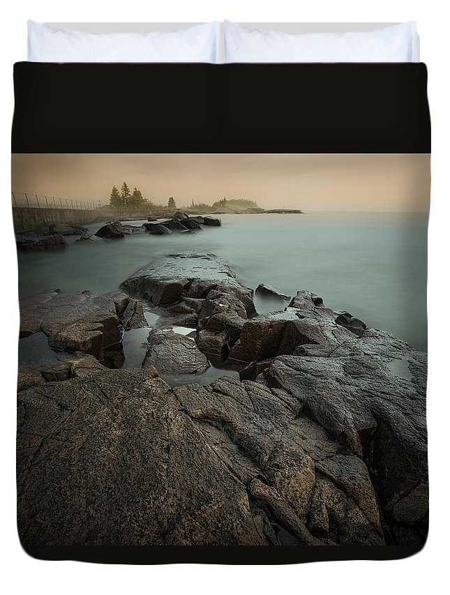 Architecture Duvet Cover featuring the photograph Artists Point by Jakub Sisak