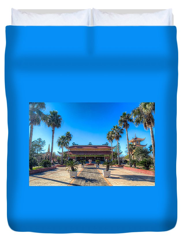 Vietnamese Duvet Cover featuring the photograph Asia In America by Tim Stanley