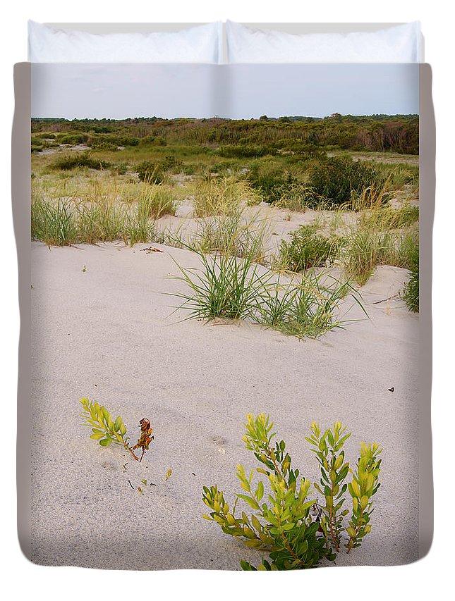 Assateague Duvet Cover featuring the photograph Assateague Dunes 2 by Benjamin Reed