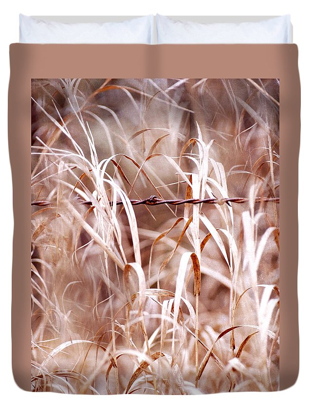 Autumn Duvet Cover featuring the photograph Autumn In The Country by Angie Rea