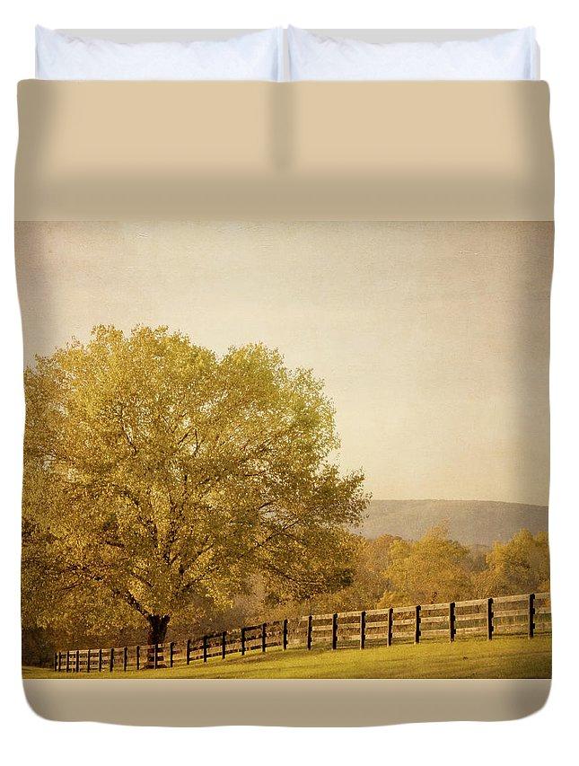 Autumn Duvet Cover featuring the photograph Autumn Wonders by Kim Hojnacki
