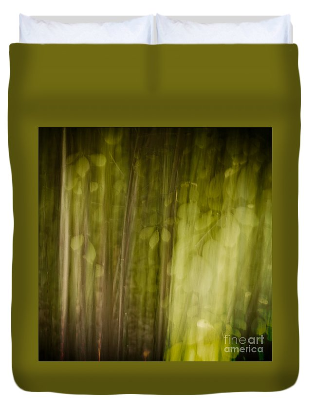 Art Duvet Cover featuring the photograph Autumns' Promise 8 by Joe Mamer