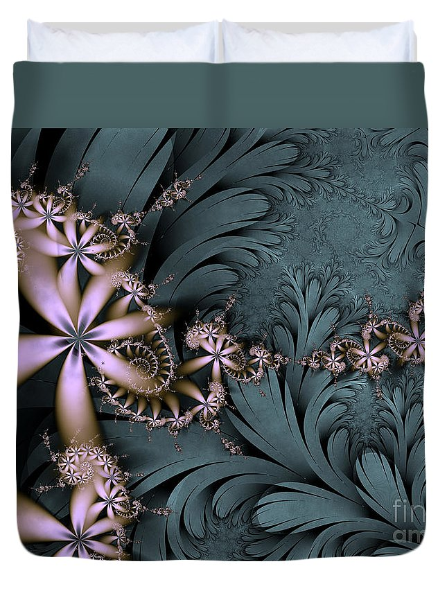 Awake The Day Duvet Cover featuring the digital art Awake The Day by Kimberly Hansen