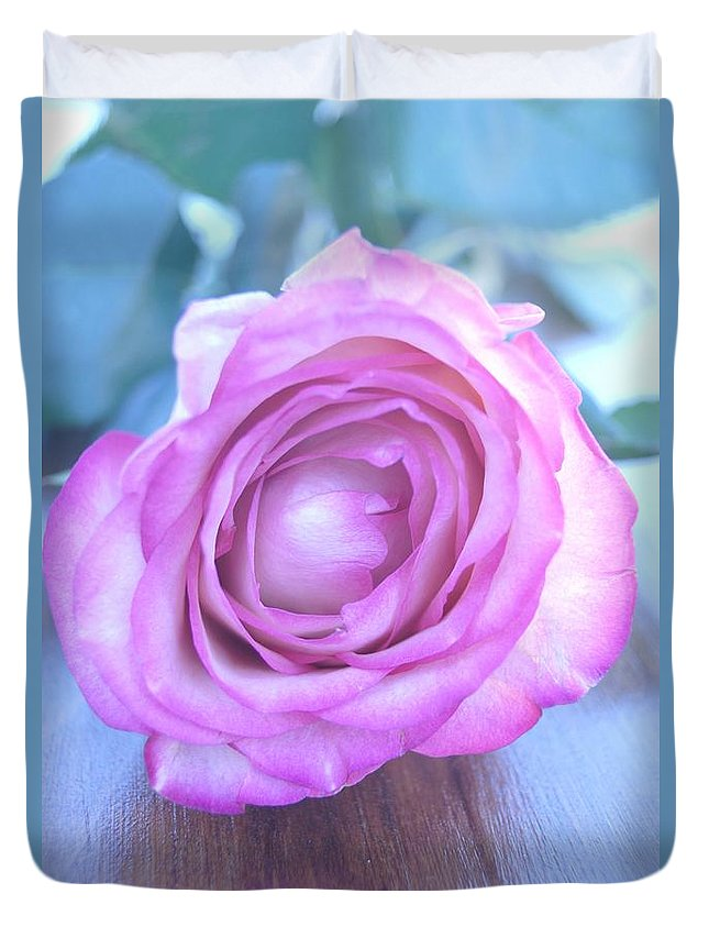 Roses Duvet Cover featuring the photograph Awakening by Kerri Mortenson