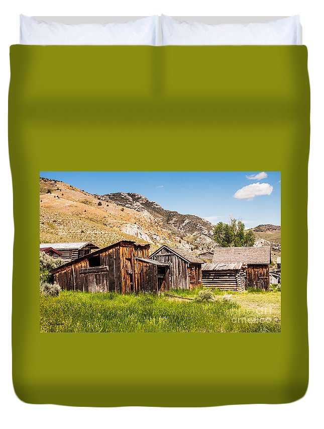 Bachelors Row Duvet Cover featuring the photograph Bachelors Row by Sue Smith