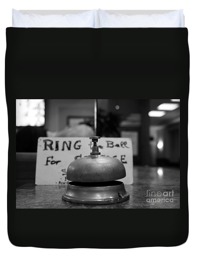 Ring Duvet Cover featuring the photograph Back Soon - Maybe by Donato Iannuzzi
