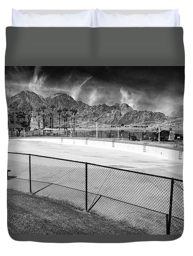 Bad Storm Duvet Cover featuring the photograph Bad Storm Brewing by Dominic Piperata